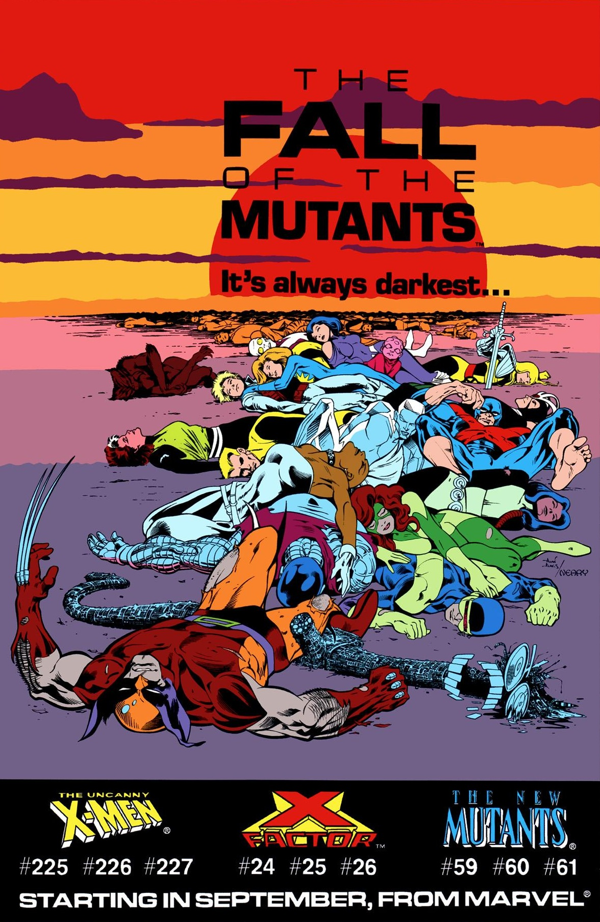 x-men fall of the mutants