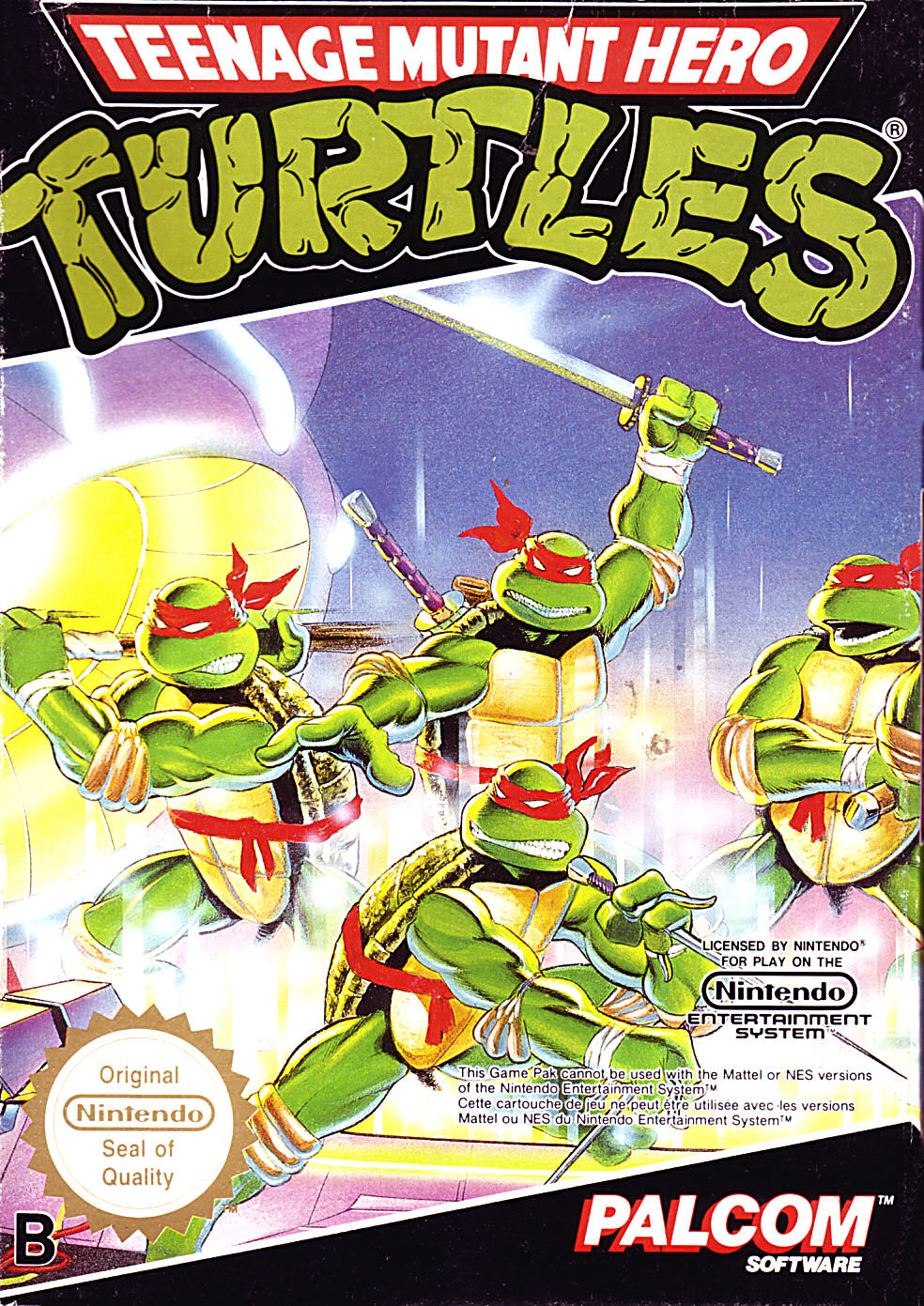 turtles teenage mutants heros av