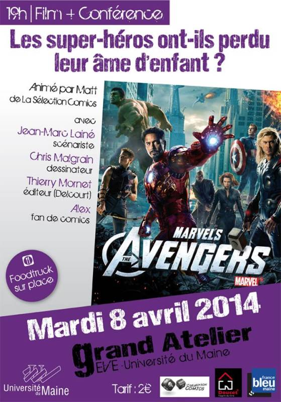 soiree super heros au mans