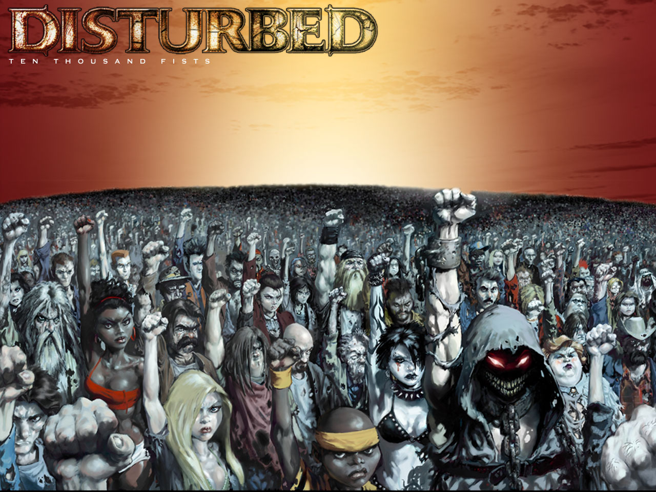 disturbed - ten thousant fists