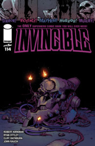 Invincible -114-Cover
