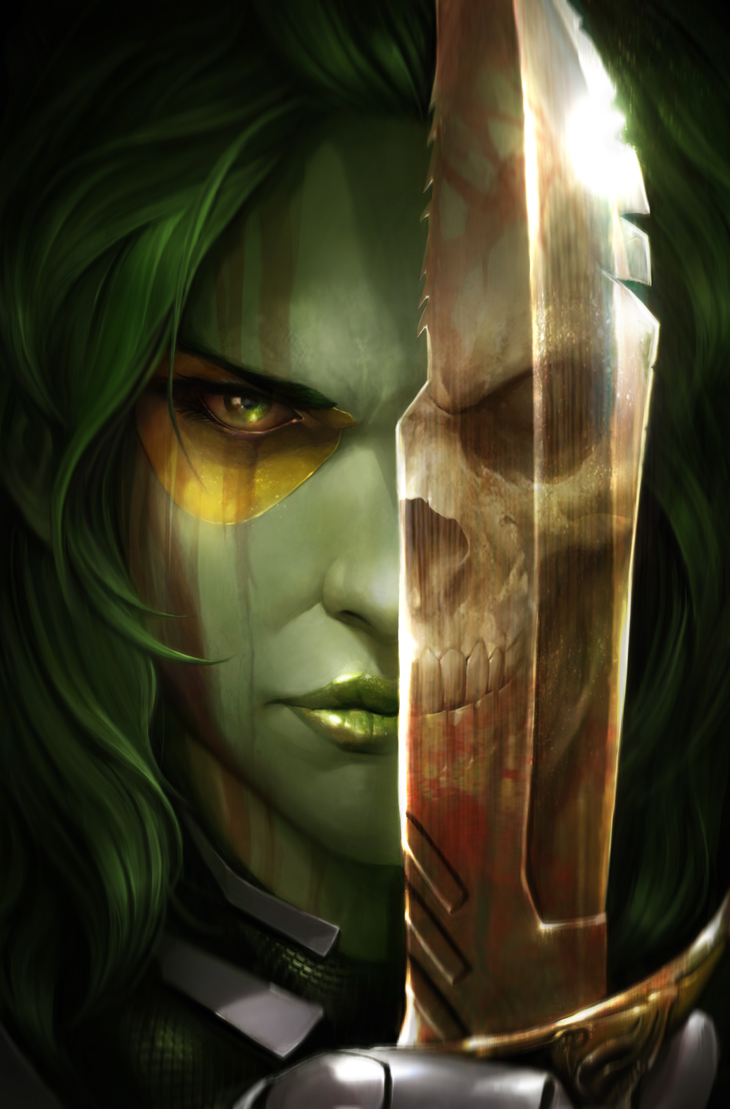 Gamora-1-Cover-Francesco-Mattina