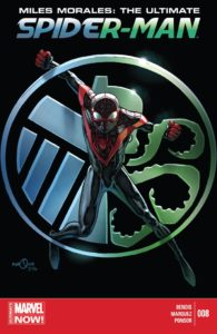 Miles Morales - Ultimate Spider-Man 008-Cover