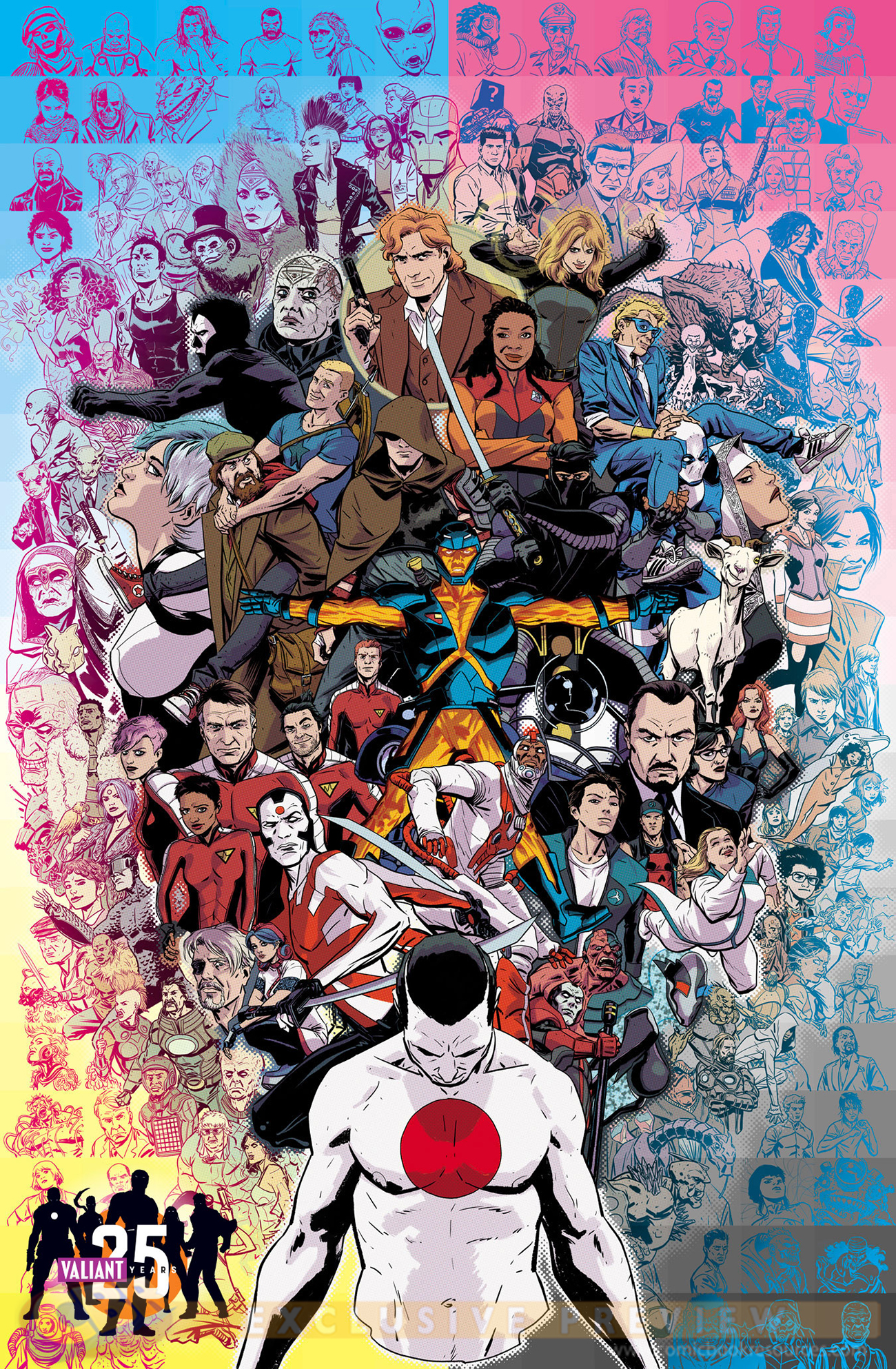 VALIANT-25th-poster
