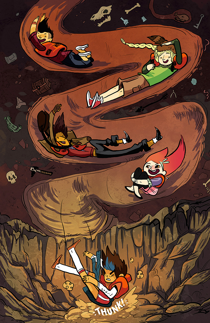 Lumberjanes-girls