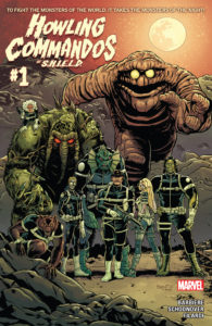 Howling Commandos of S.H.I.E.L.D. cover 1