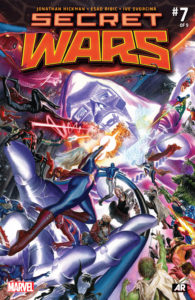 Secret Wars 7 cover