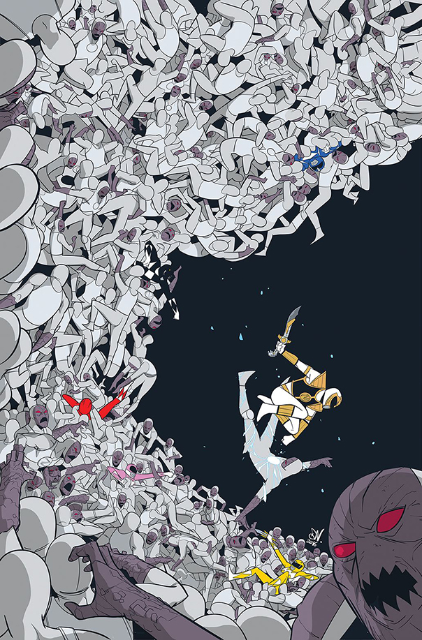 mighty-morphin-power-rangers-009-cover-variant